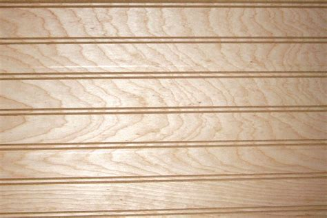 Birch Plywood 14 Beadboard 24 X 24 The Wood & Shop Inc