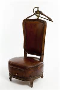 antique leather valet chair bgd shop products pinterest
