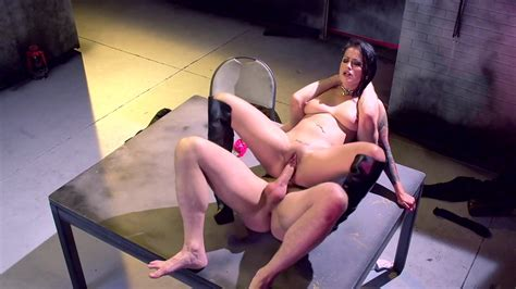 Agent Katrina Jade Got Fucked Hard And Raw After Being