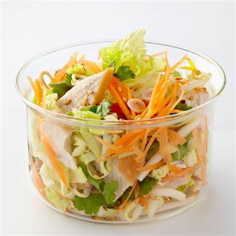 chou chinois cuisine salade thaï de poulet au chou chinois recette salade