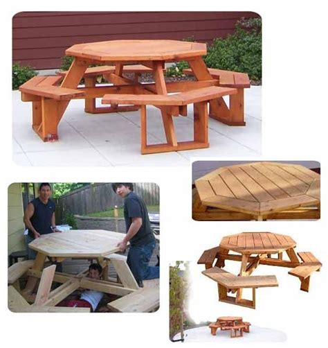picnic table plans  woodworking projects plans