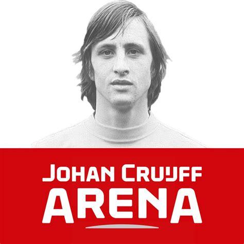 He was a dutch icon. Rijkaard onthult logo Johan Cruijff Arena | NOS