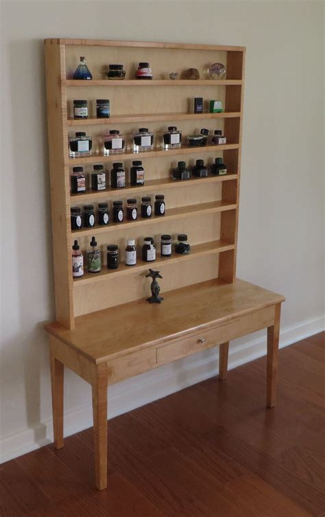 Hand Made Ink Shelves By Top Notch Carpentry Inc