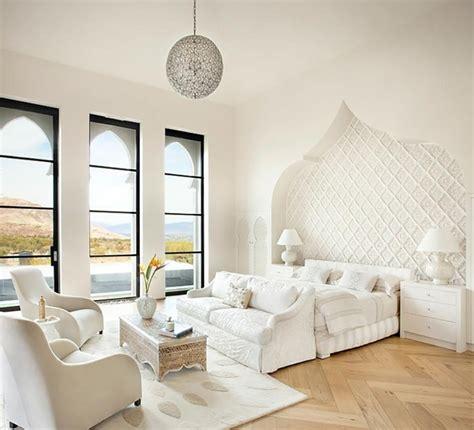 chambre style orientale intérieur déco contemporain aux touches orientales