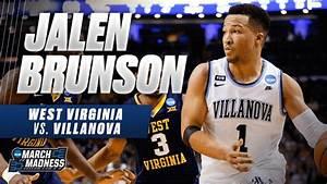Villanova39s Jalen Brunson Drops 27 Points On West Virginia