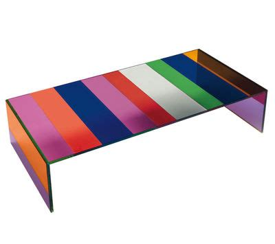 multi coloured table l the dark side of the moon coffee table 155 x 55 cm