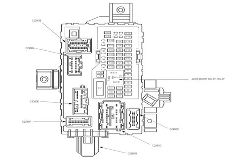 ford mustang fuse box diagram  hood  dash