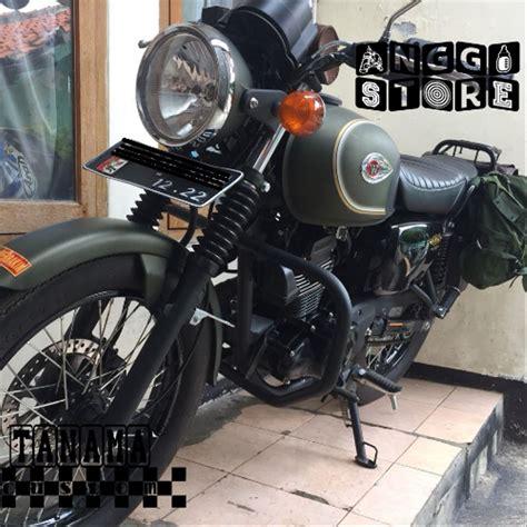 Kawasaki W175 Side Bag by Jual Engine Guard Custom Kawasaki Estrella W175 W175se Di