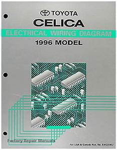 1996 Toyota Celica Electrical Wiring Diagrams Original