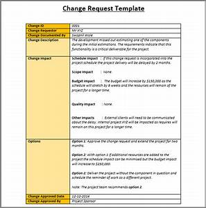 change management plan process and templates excel With it change management process template