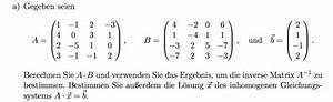 Inverse Online Berechnen : gau inverse berechnen tauschmatrix mathelounge ~ Themetempest.com Abrechnung
