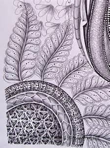 Zentangle Flower Art