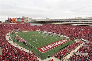NCAA Camp Randall Among Nations Loudest Stadiums Big