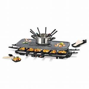 Raclette Fondue Set : 2in1 fondue raclette set ~ Michelbontemps.com Haus und Dekorationen