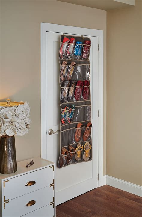 Closetmaid Door Storage Rack - closetmaid 31496 24 pocket the door shoe organizer