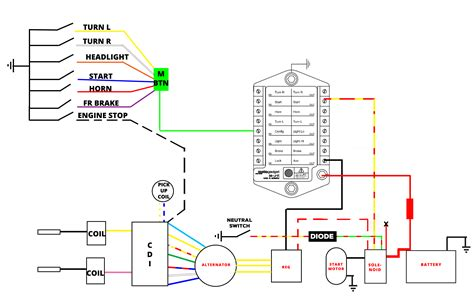 Unit Button Wiring Diagram For Cdi Cxa