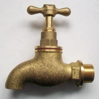 pegler heavy weight   brass bib tap