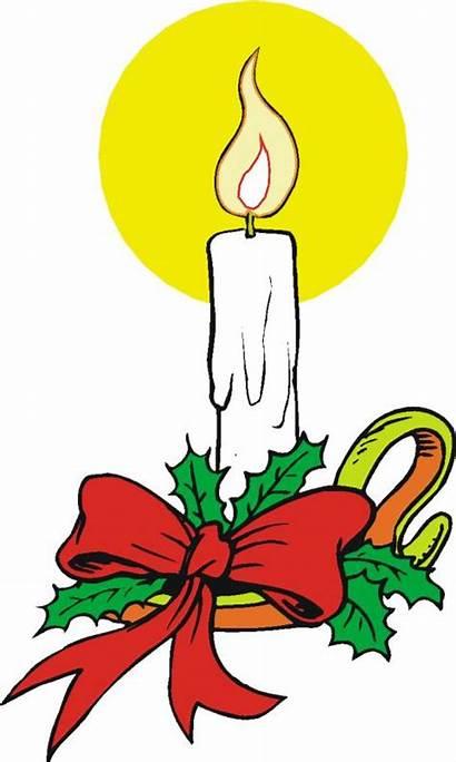 Kerst Kaarsen Cliparts Kerstmis Animaatjes