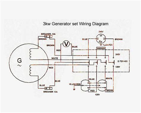 Wiring Diagram For Volt Generator Plug