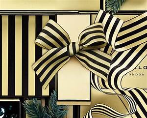 Black and White Striped Taffeta Ribbon by Jo Malone ...