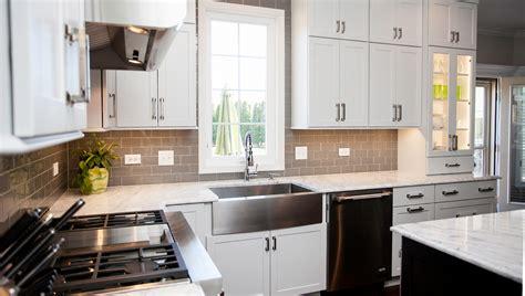 white tile backsplash stylish transitional kitchen design remodeling naperville