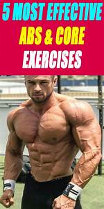 5 Most Effective Abs And Core Exercises  Abs  Fitness  Workout  Bodybuilding  Sixpack  Gym