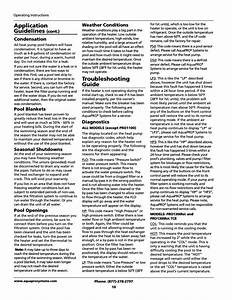 Troubleshooting Guide  Application Guidelines