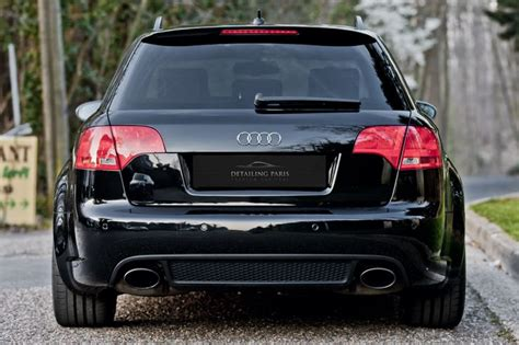 audi rs4 b7 black edition detailing mymotors suv