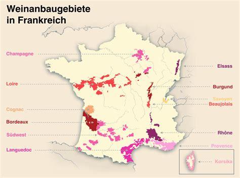 franzoesischer wein rebsorten und anbaugebiete