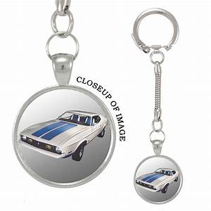 Mad Marble - 1972 Ford Mustang Keychain - Walmart.com