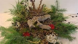 Weihnachtsdeko Draußen Basteln : weihnachtsdekoration adventsgesteck weihnachtsgesteck aus ~ A.2002-acura-tl-radio.info Haus und Dekorationen