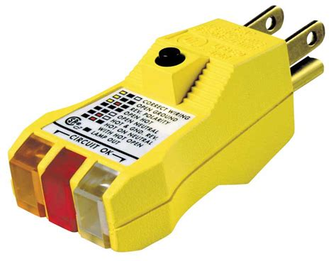 Diamond Tool Ideal Plus Gfci Circuit Tester