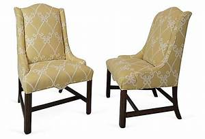 Host, Chairs, Pair, On, Onekingslane, Com
