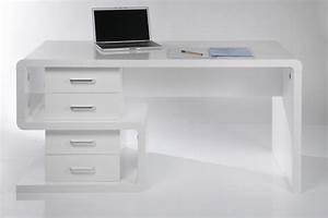 Moderne Schreibtische : schreibtisch wei modern ~ Pilothousefishingboats.com Haus und Dekorationen