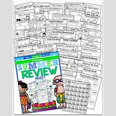 The Ultimate Kindergarten Summer Review Packet! This Packet Has Everything! Just Print And Go