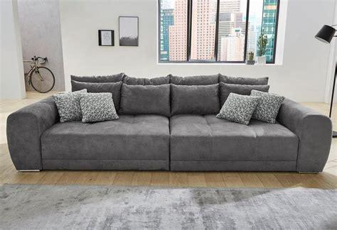 Großes Sofa Günstig by Big Sofa Inklusive Loser R 252 Cken Und Armlehnkissen