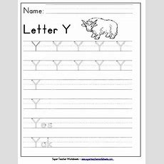 Letter Y Worksheets  Recognize, Trace, & Print