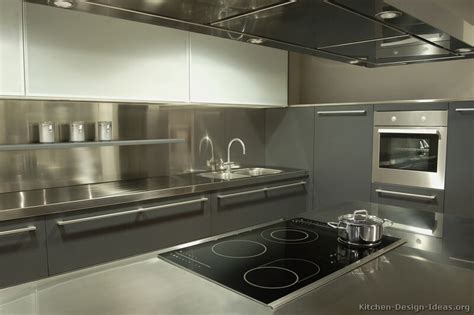 stainless steel kitchen backsplash ideas pictures of kitchens modern gray kitchen cabinets