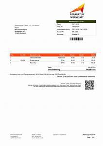 Ebay Zahlung Auf Rechnung : rechnungsprogramm reparaturen verwalten u abrechen ~ Themetempest.com Abrechnung