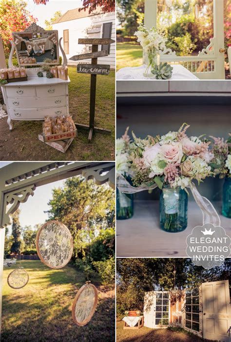 rustic outdoor wedding venue setting ideas for 2014 and 2015 elegantweddinginvites