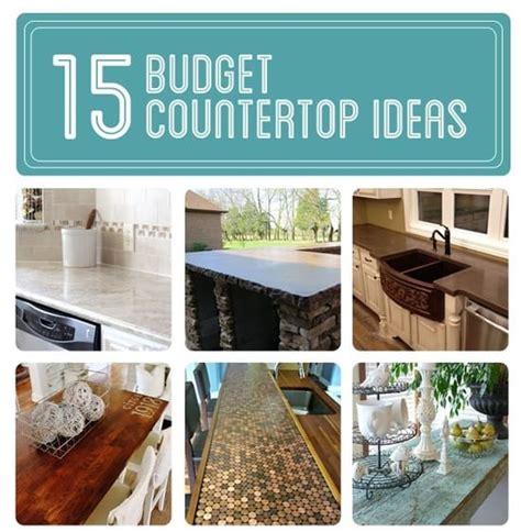 creative countertop ideas 15 budget countertop ideas diy cozy home
