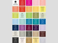 the unofficial Paper Source color guide updated! — Akula