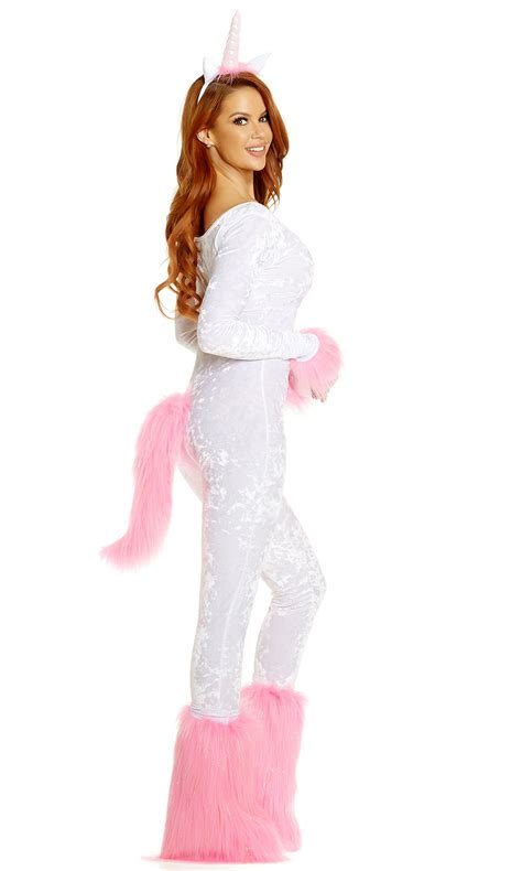 adult unicorn bodysuit woman costume