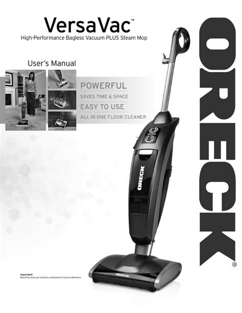 oreck floor machine manual oreck vcsteam owner s manual for free manualagent