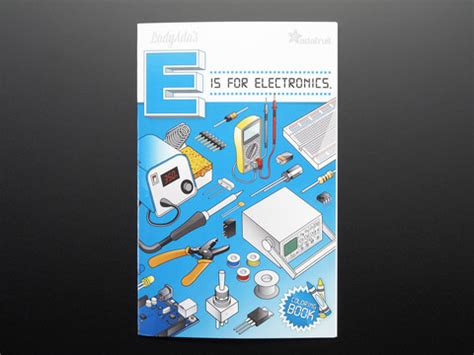 coloring book ladyadas    electronics id