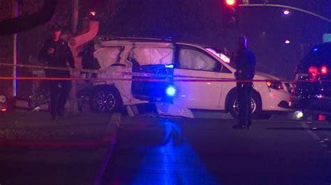 Police: Child killed when train hits minivan outside ...