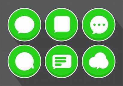 Message Icons Graphics Vectorified Edit