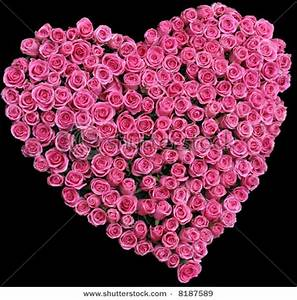 Pink and black hearts wallpaper |The Free Images