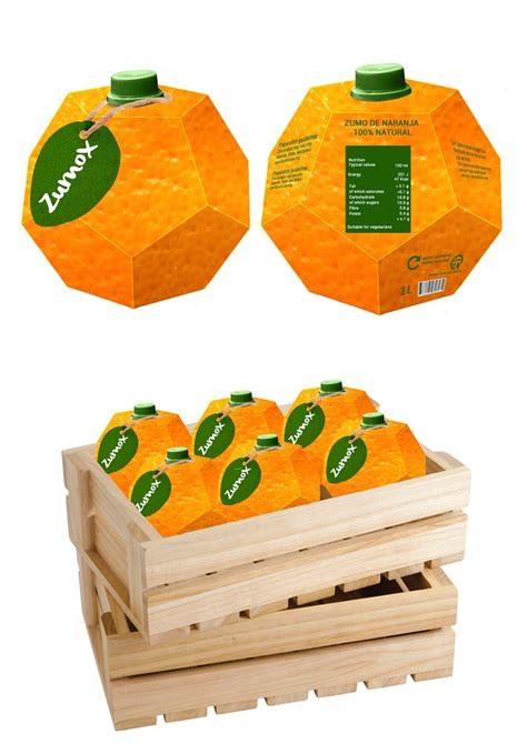 Zumox Orange Juice (student Project) On Packaging Of The