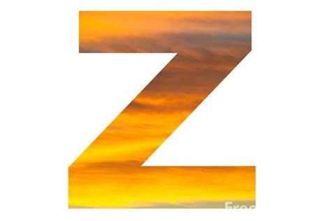 Letter Z Pictures, Free Use Image, 2001-26-1 By Freefoto.com